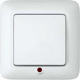 Выключатель 1-кл. СП Прима 6А бел. DIY SchE (С16-053-би)