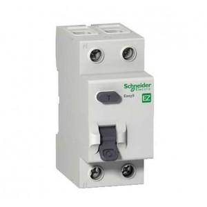 Выключатель авт. диф. тока 1п+N 2мод. C 20А 30мА тип AC 4.5кА EASY 9 SchE