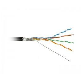 Кабель FTP 4-C5E-SOLID-OUTDOOR-40-500 витая пара экран. FTP (F/UTP) кат.5e 4х2х0.5 (24 AWG) ож (solid) экран-фольга для