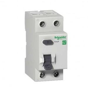 Выключатель авт. диф. тока 1п+N 2мод. C 10А 30мА тип AC 4.5кА EASY 9 SchE