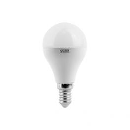 Лампа светодиодная LED Elementary Globe 6Вт E14 4100К Gauss