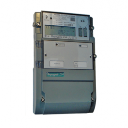 "Счетчик ""Меркурий"" 234 ARTM-02 PB.G 3ф 5-100А 1.0/2.0 класс точн.; многотариф. оптопорт RS485 GSM ЖКИ винт Моск. вр. Инк"