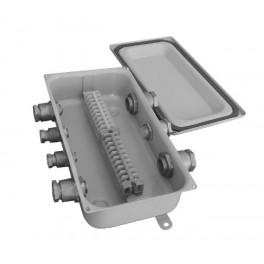 Коробка У614А УХЛ1.5 с латунными сальниками ЗЭТА