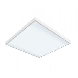 Светильник светодиодный LED 595х595х50 36Вт 4000К офис. встраив. накладной без рассеив. VARTON