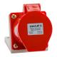 Розетка 114 16А 380В AC 3P+PE 6ч для монтажа на поверхность IP44 КЭАЗ
