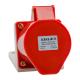 Розетка 125 32А 380В AC 3P+PE+N 6ч для монтажа на поверхность IP44 КЭАЗ