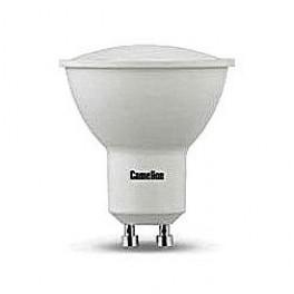 Лампа светодиодная LED7 GU10/830/GU10 7Вт 220В Camelion