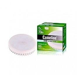 Лампа светодиодная LED8 GX53/830/GX53 8ВТ 220В Camelion