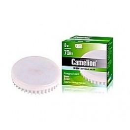 Лампа светодиодная LED8 GX53/845/GX53 8ВТ 220В Camelion