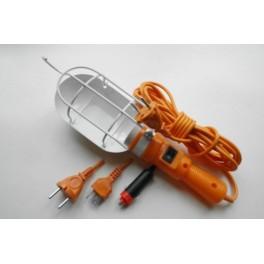 Светильник переносной ЛСУ-1 5м ПВС с выкл. 220В (РВО) Техник