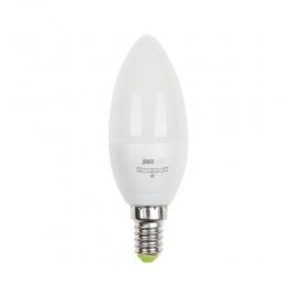 Лампа светодиодная PLED-ECO-C37 5Вт E27 3000К 400лм 230В/50Гц JazzWay
