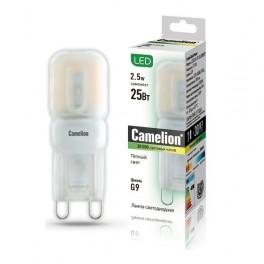 Лампа светодиодная LED2.5-G9-SL/830/G9 2.5Вт 220В Camelion
