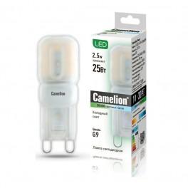 Лампа светодиодная LED2.5-G9-SL/845/G9 2.5Вт 220В Camelion