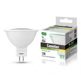 Лампа светодиодная LED5-MR16/830/GU5.3 5Вт 12В Camelion