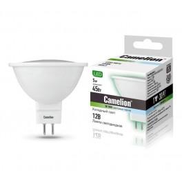 Лампа светодиодная LED5-MR16/845/GU5.3 5Вт 12В Camelion