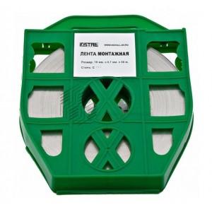 Лента бандажная C202 20х50 пластик (F 207; COT 37; F 2007; F 20.7; F 20; ЛМ-50) (уп.50м) ИНСТАЛЛ