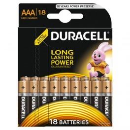 Элемент питания LR03-18BL BASIC (блист.18шт) Duracell