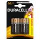 Элемент питания LR6-6BL BASIC (блист.6шт) Duracell