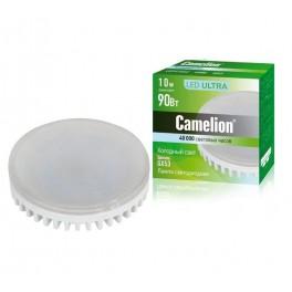 Лампа светодиодная LED10-GX53/845/GX53 10Вт 220В Camelion