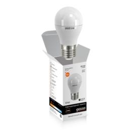 Лампа светодиодная LED Elementary Globe A60 7Вт E27 2700К Gauss