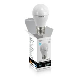 Лампа светодиодная LED Elementary Globe A60 10Вт E27 4100К Gauss