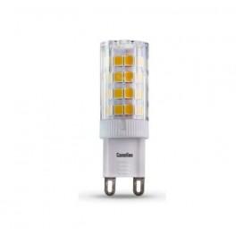 Лампа светодиодная LED4-G9/830/G9 4Вт 220В Camelion