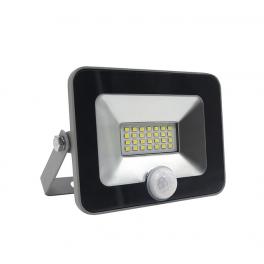 Прожектор светодиодный PFL-C-SMD-20Вт sensor 6500К IP65 JazzWay