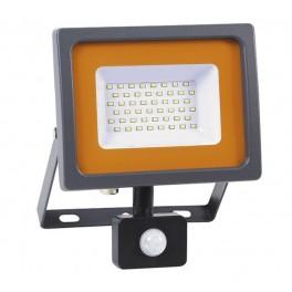 Прожектор светодиодный PFL-SC-SMD-30Вт sensor 6500К IP54 (матовое стекло) JazzWay