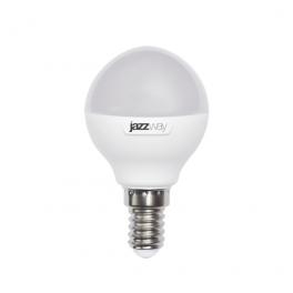Лампа светодиодная PLED-SP G45 9Вт E14 5000К 820лм 230В/50гц JazzWay