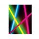 Набор неоновых трубочек (син.; красн.; салатовый) + 3 коннектора для изготовления браслетов и ожерелья ( уп.3шт) КОСМОС