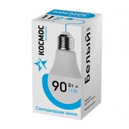 """Лампа светодиодная LED """"Экономик"""" A60 11Вт 220В E27 4500К КОСМОС"""