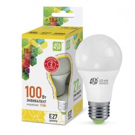 Лампа светодиодная LED-A60-standard 11Вт 160-260В E27 3000К 990лм ASD