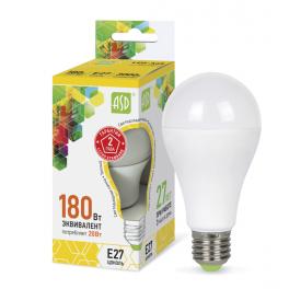 Лампа светодиодная LED-A60-standard 20Вт 160-260В E27 3000К 1800лм ASD