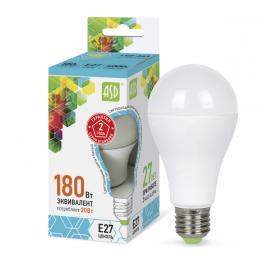 Лампа светодиодная LED-A60-standard 20Вт 160-260В E27 4000К 1800лм ASD