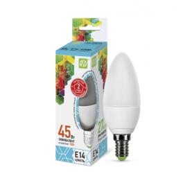 Лампа светодиодная LED-свеча-standard 5Вт 160-260В E14 4000К 450лм ASD