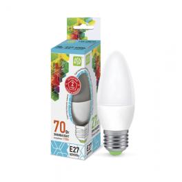 Лампа светодиодная LED-свеча-standard 7.5Вт 160-260В E27 4000К 675лм ASD