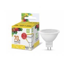 Лампа светодиодная LED-JCDR-standard 7.5Вт 160-260В GU5.3 3000К 675лм ASD