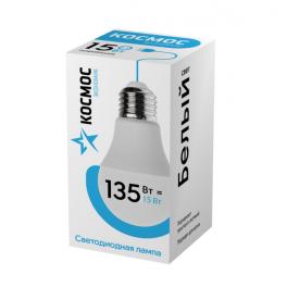 """Лампа светодиодная LED """"Экономик"""" A60 15Вт 220В E27 4500К КОСМОС"""