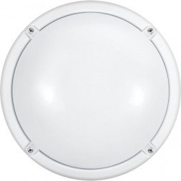 Светильник 71 622 OBL-R1-7-4К-WH-IP65-LED-SNRV (оптико-акустич. датчик) ОНЛАЙТ
