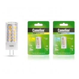 Лампа светодиодная LED3.5-JC/830/G4 3.5Вт 3.5Вт 12В AC/DC Camelion