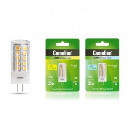 Лампа светодиодная LED3.5-JC/845/G4 3.5Вт 12В AC/DC Camelion