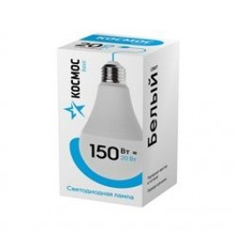 """Лампа светодиодная LED """"Экономик"""" A65 20Вт 220В E27 4500К КОСМОС"""