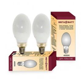 Лампа газоразрядная ртутная ДРЛ 125 E27 (25) МЕГАВАТТ
