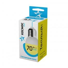 Лампа светодиодная LED BASIC GL45 8.5Вт 220В E27 3000К Космос