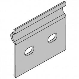Планка соединительная GTO для лотков H80 ДКС