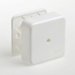 Коробка универсальная для кабель-каналов 80х80х25 Рувинил