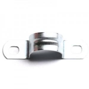 Скоба креп. метал. оцинк. двухлап. d50мм ДКС