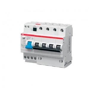 Выключатель авт. диф. тока 4п 6мод. C 25А 30мА тип AC 6кА DS204 ABB