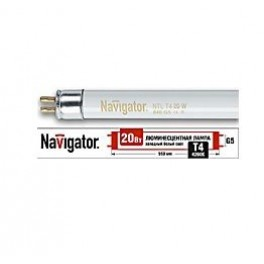 Лампа люминесцентная 94 104 NTL-T4-20-840-G5 Navigator