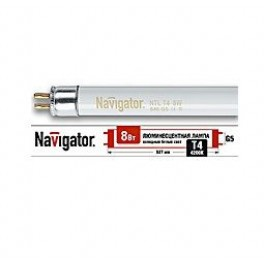 Лампа люминесцентная 94 101 NTL-T4-08-840-G5 Navigator